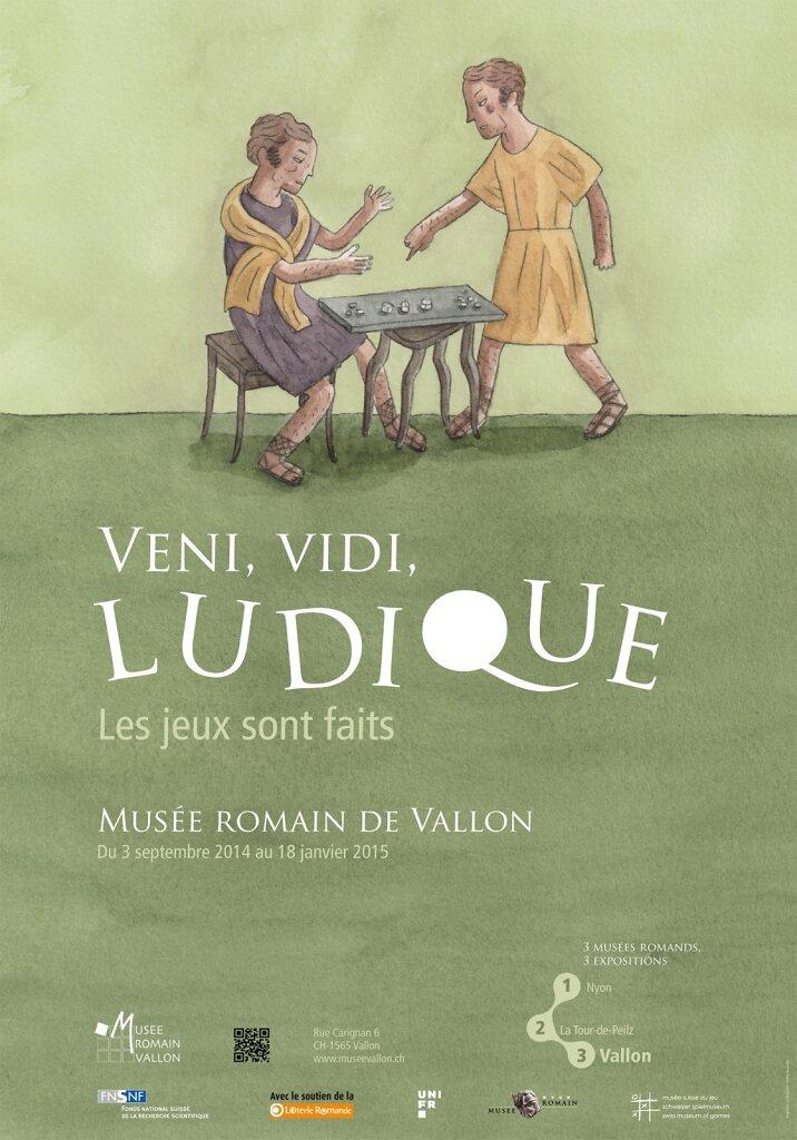 Affiche pour l'exposition sur le même thème à Vallon