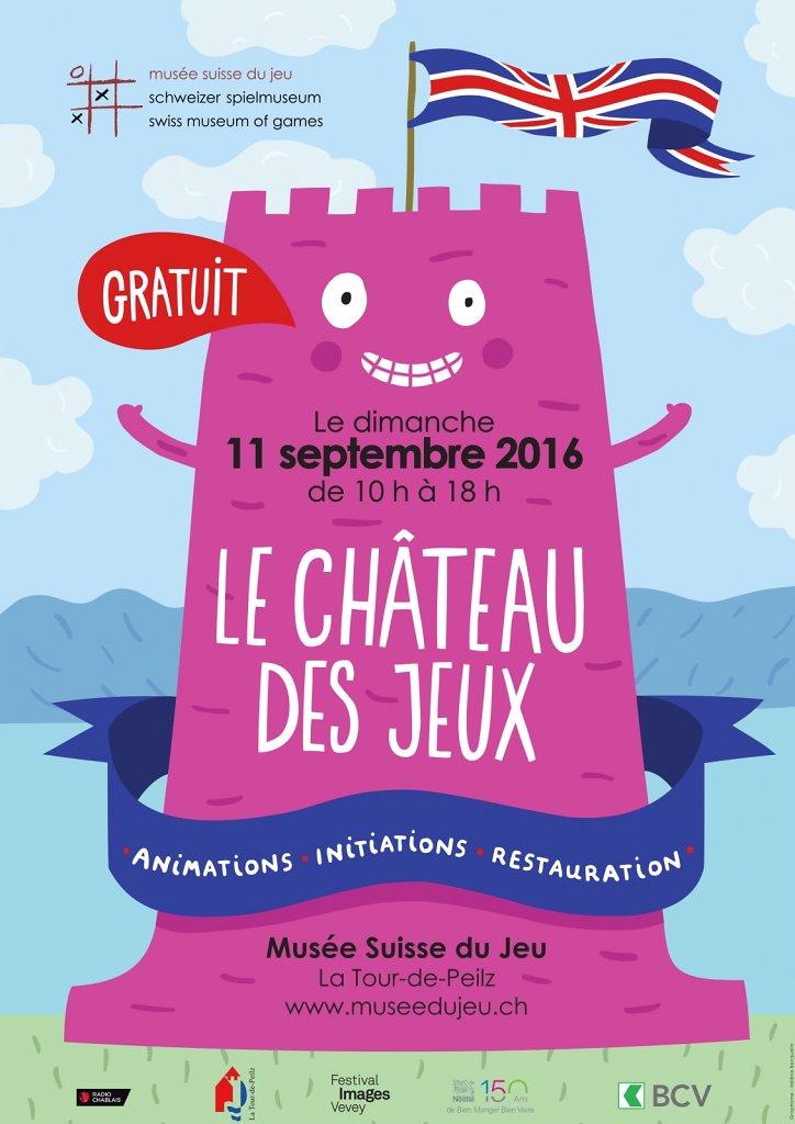 Le Château des jeux, version 2016